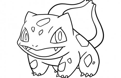 469x304 Pokemon Coloring Pages Bulbasaur