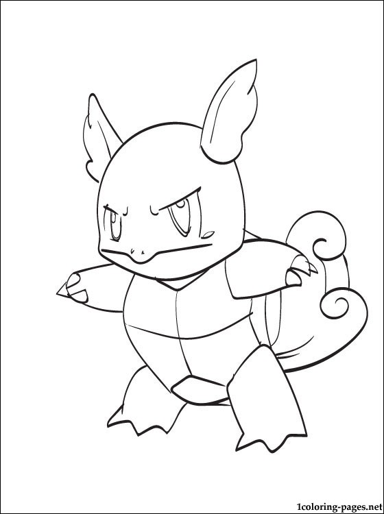 560x750 Wartortle Coloring Page Pokemon Black And White Coloring Pages