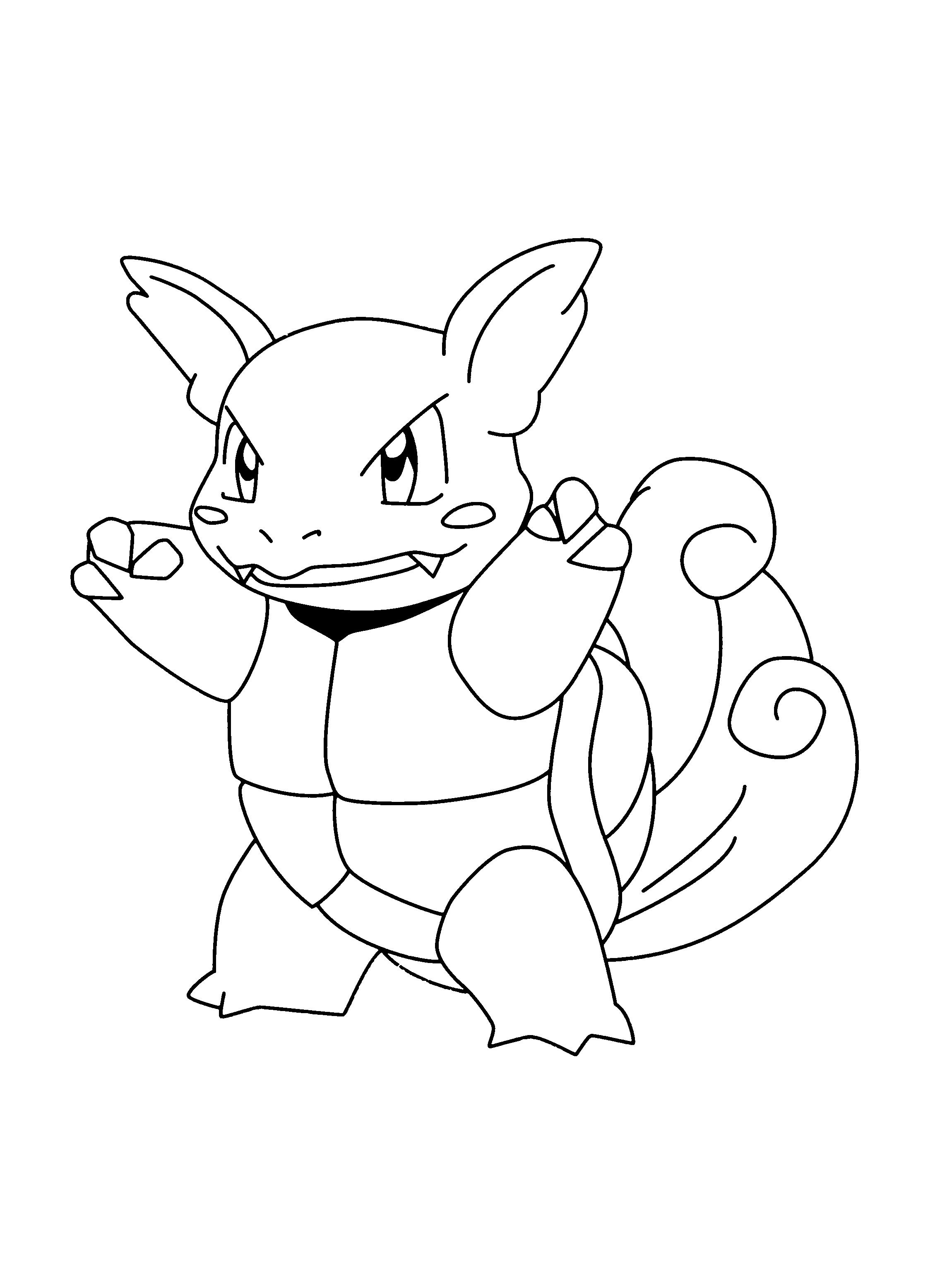 2300x3100 Wartortle Pokemon