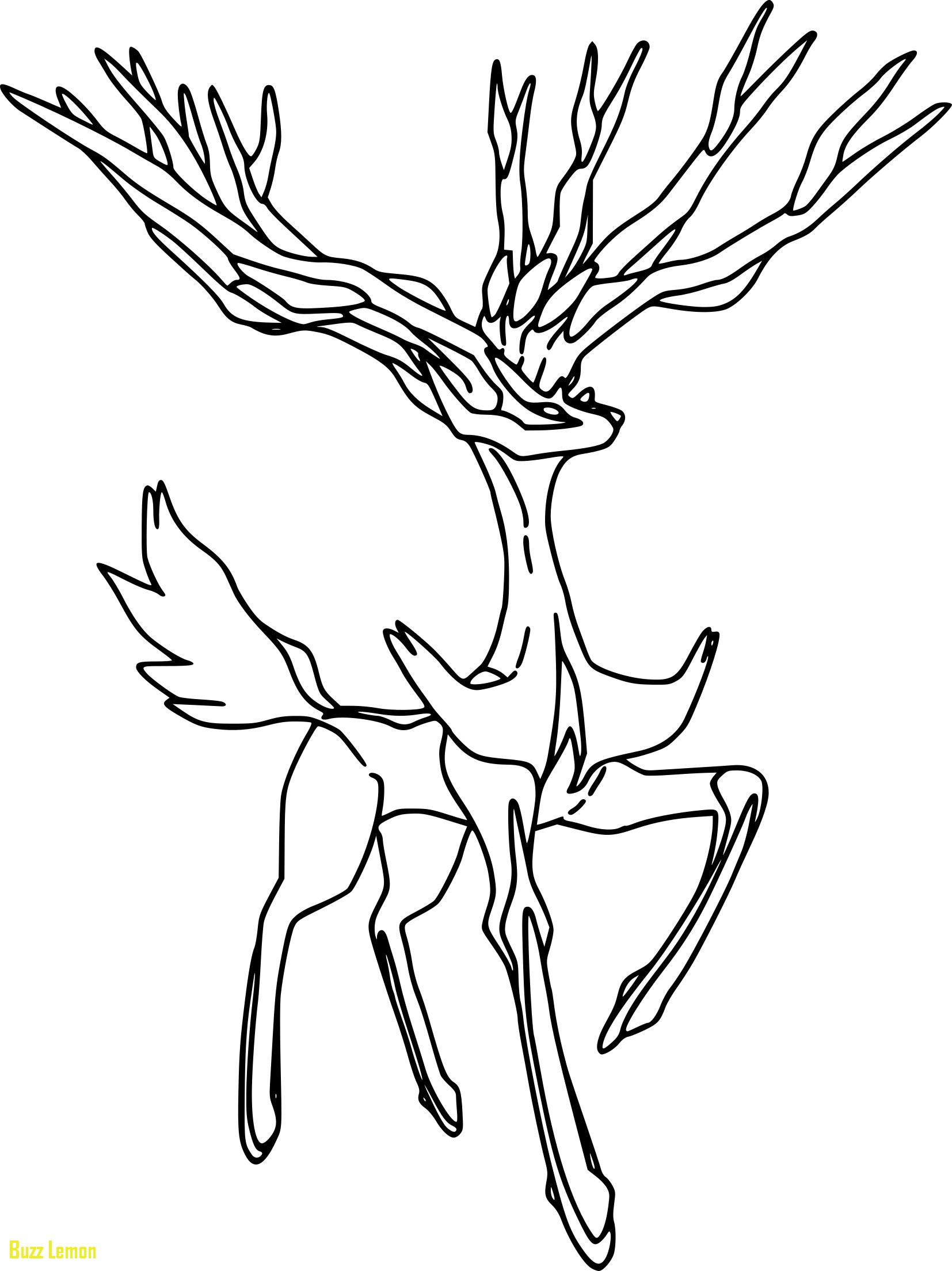 1654x2209 Xerneas Coloring Page New Meilleur De Coloriage De Pokemon De