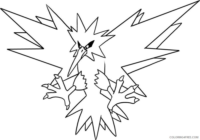 800x562 Legendary Pokemon Coloring Pages Xerneas