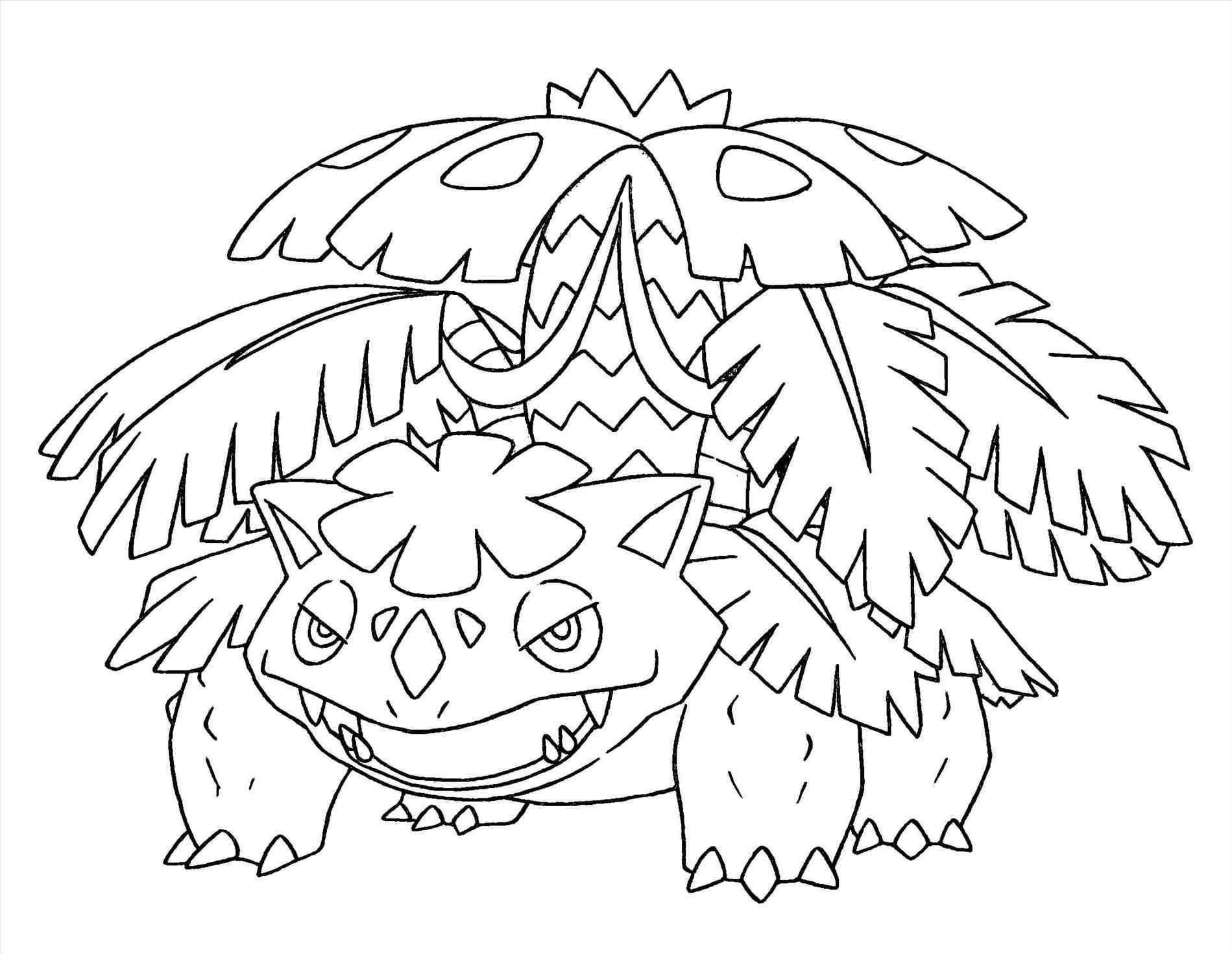 Pokemon Coloring Pages Xy