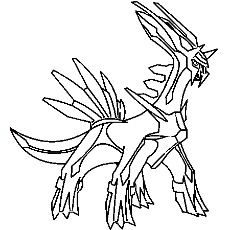 The Best Free Dialga Coloring Page Images Download From 82 Free