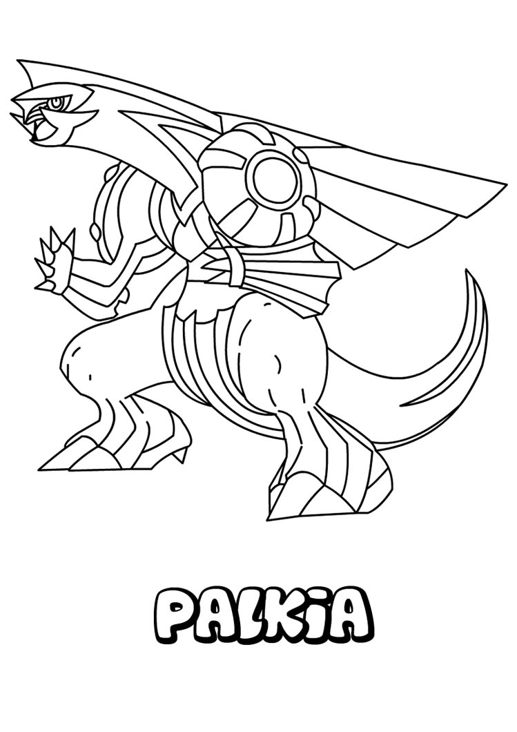 Pokemon Dialga Coloring Pages At Getdrawings Free Download