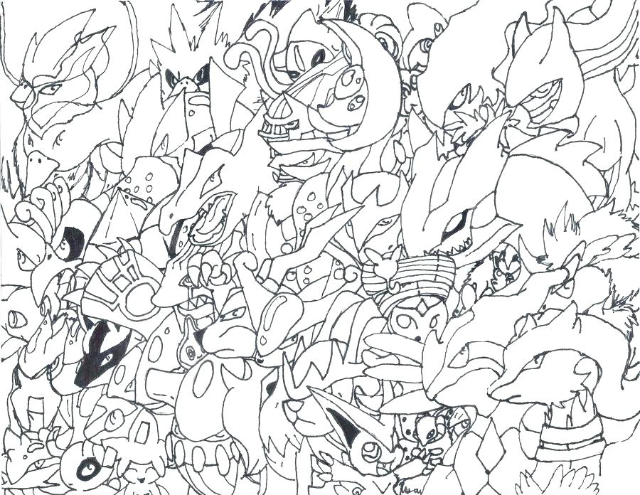 Pokemon Evolution Coloring Pages at GetDrawings Free