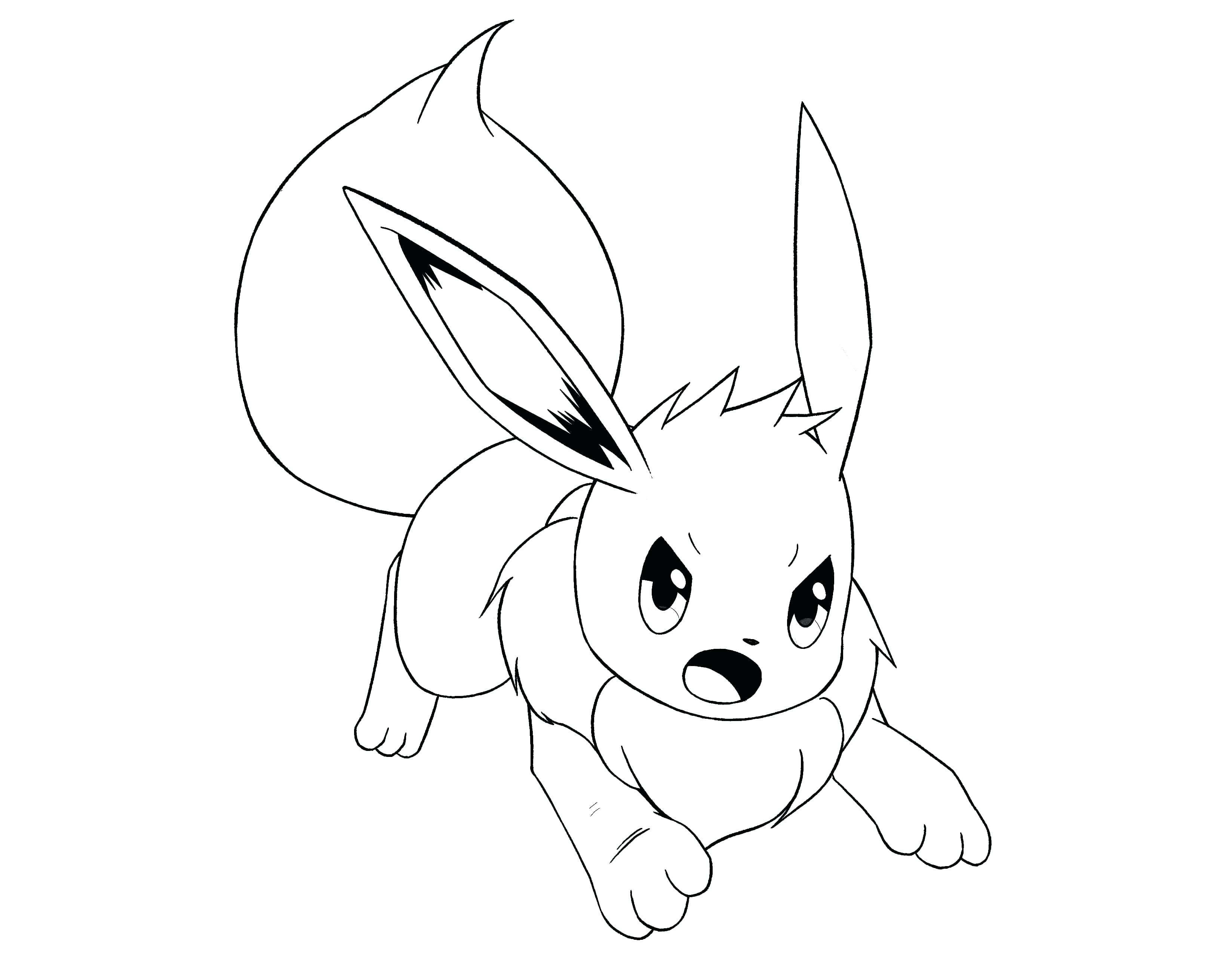 3295x2551 Pokemon Coloring Pages Eevee Evolutions Together Best Of Eevee