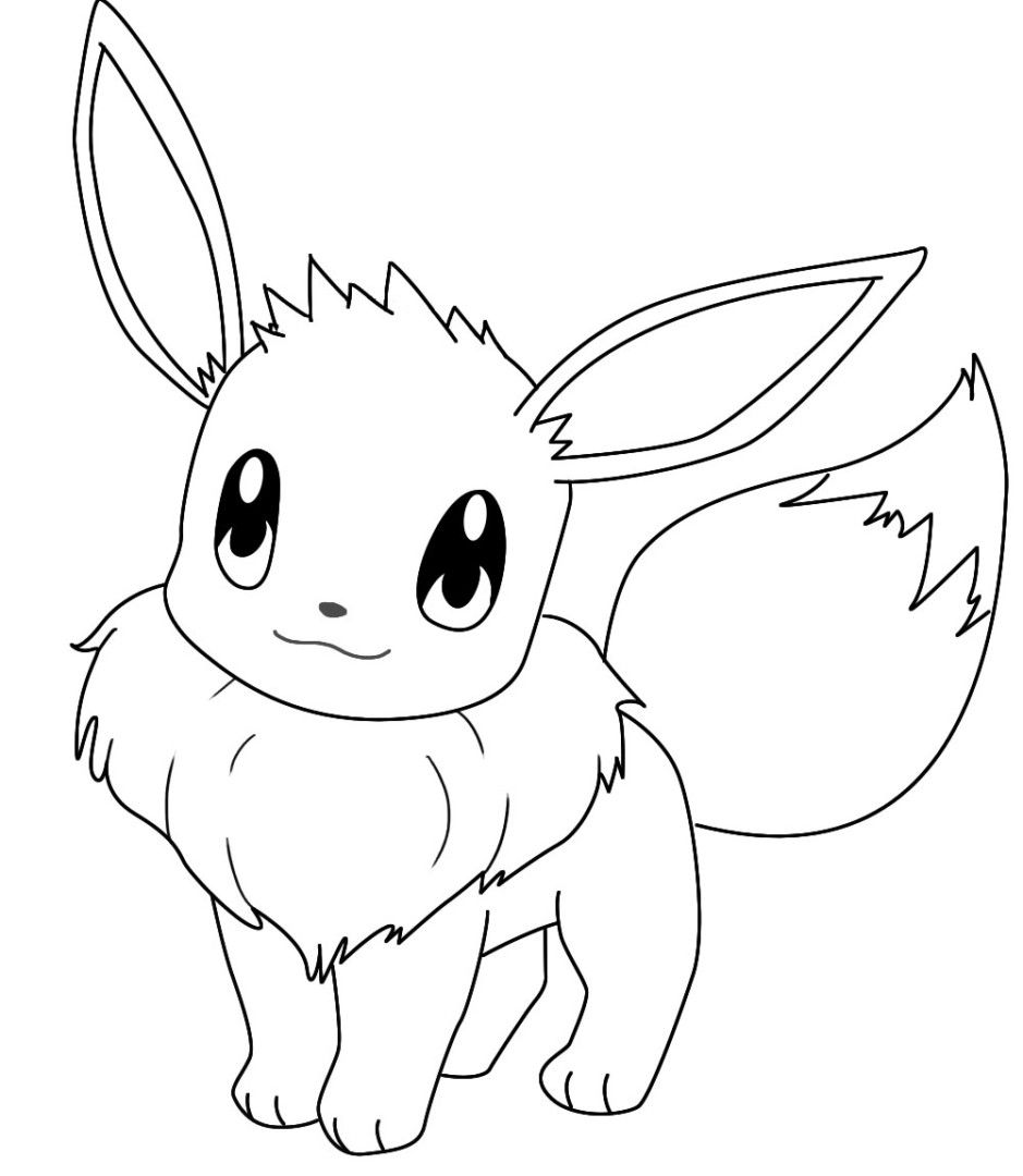 939x1080 Unlimited Eevee Coloring Pages Promise Pokemon Evolutions