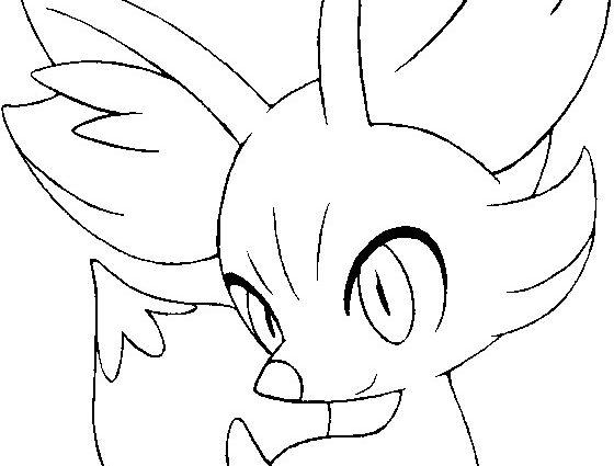 560x425 Excellent Design Pokemon Coloring Pages Fennekin