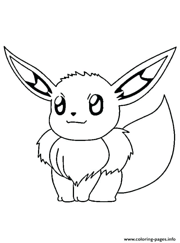 630x850 Flareon Coloring Pages A Ordable Pokemon Pictures To Print Evoli