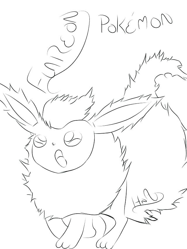 640x852 Flareon Coloring Pages Coloring Page Collection Coloring Pages