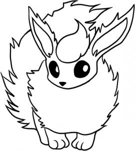 270x302 How To Draw Flareon