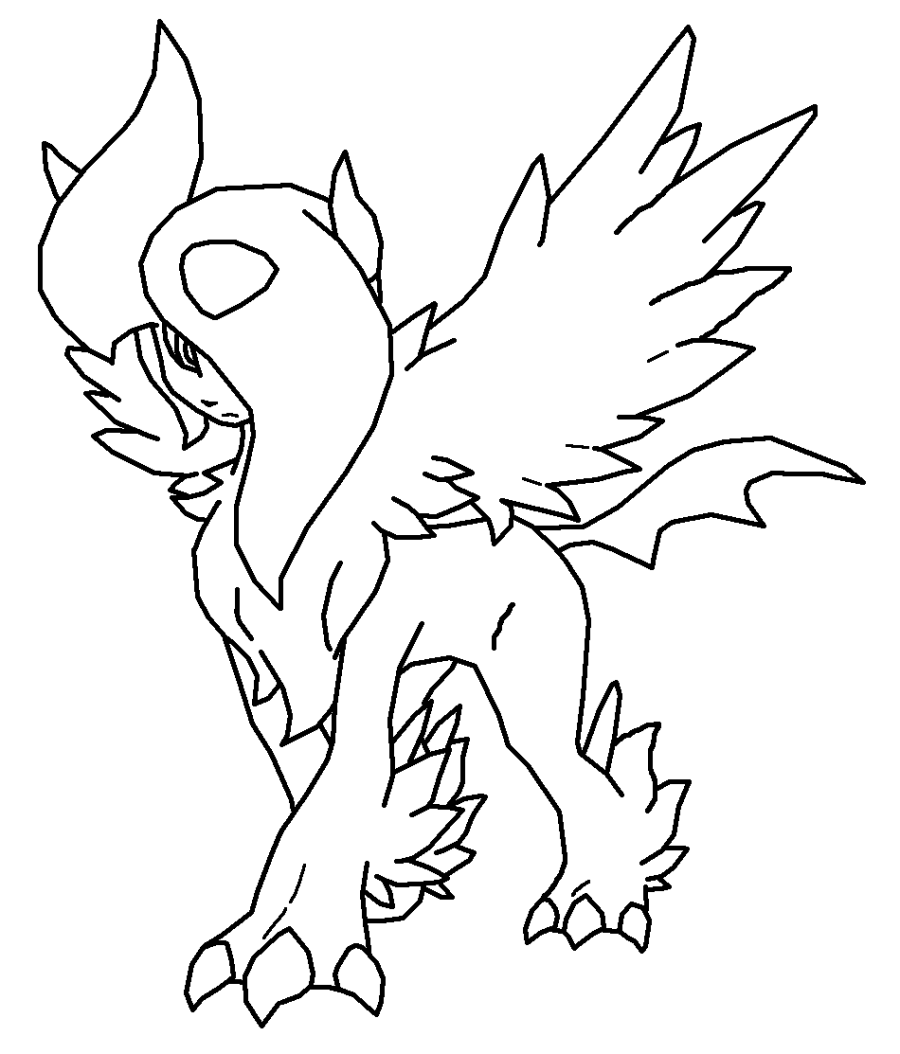 900x1054 Pokemon Flareon Coloring Pages