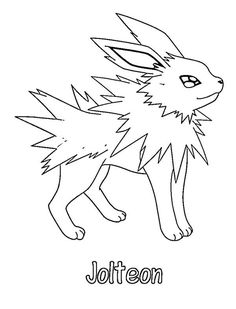 236x309 Pokemon Flareon Coloring Pages Mamas Pokemon