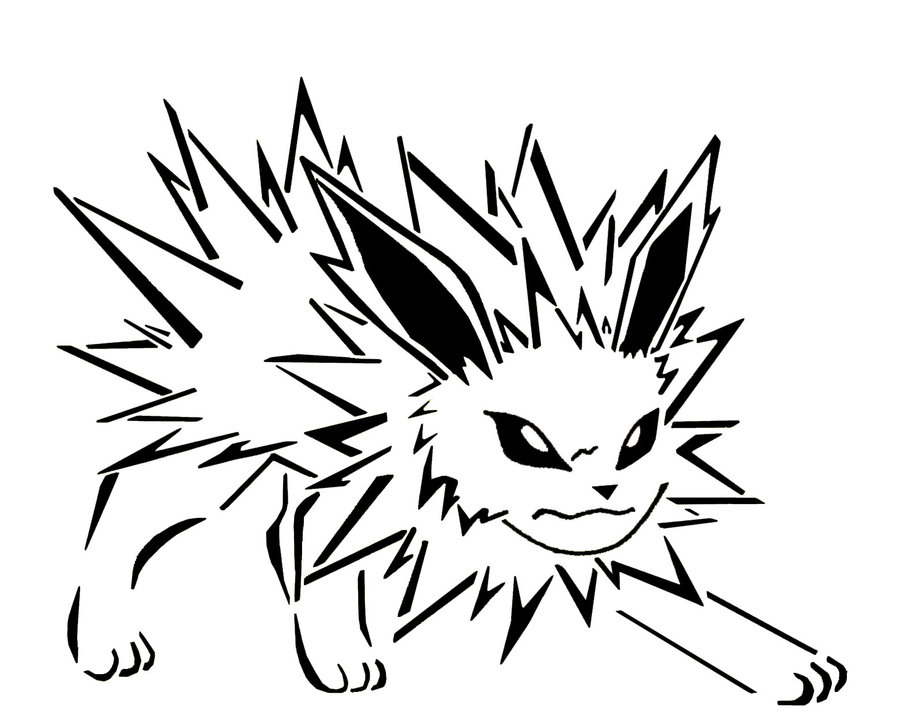 900x711 Pokemon Coloring Pages Jolteon Pokemon Coloring Pages Pokemon