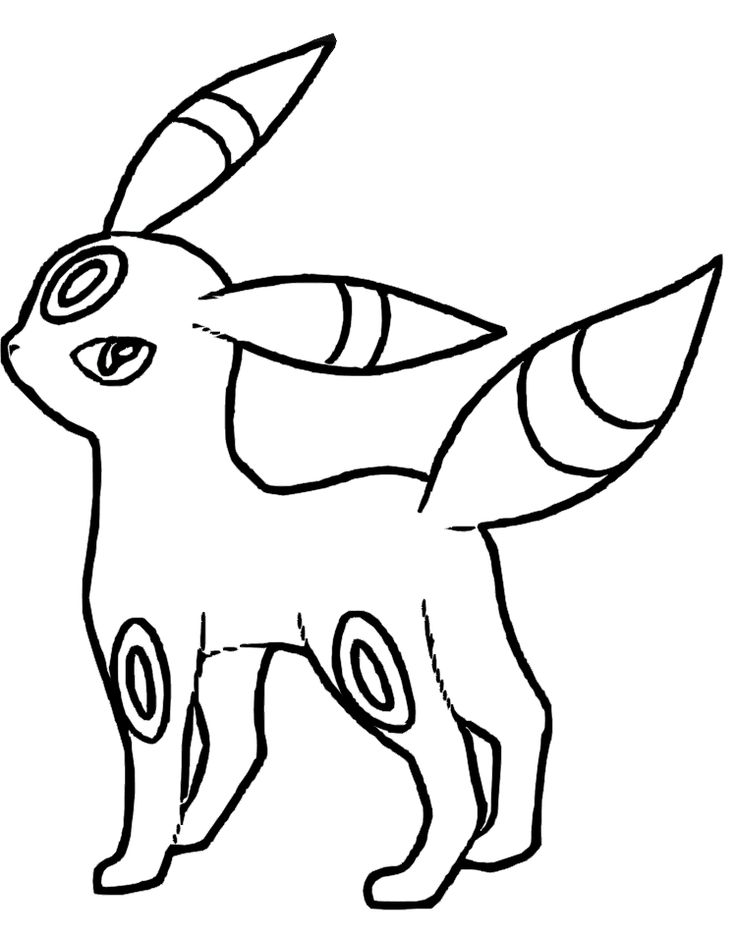 736x938 Flareon Coloring Page Free Download