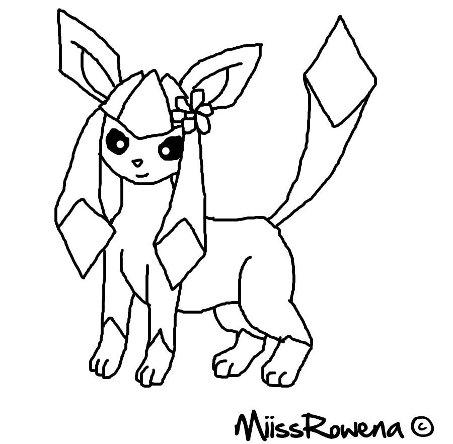 900x882 Pokemon Coloring Pages Glaceon Gallery For Kids Noticeable