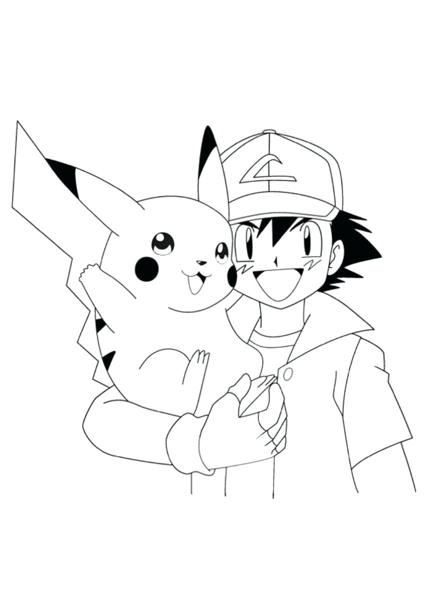 870x1231 Coloring Pages Coloring Pages Pokemon Top Pikachu And Friends