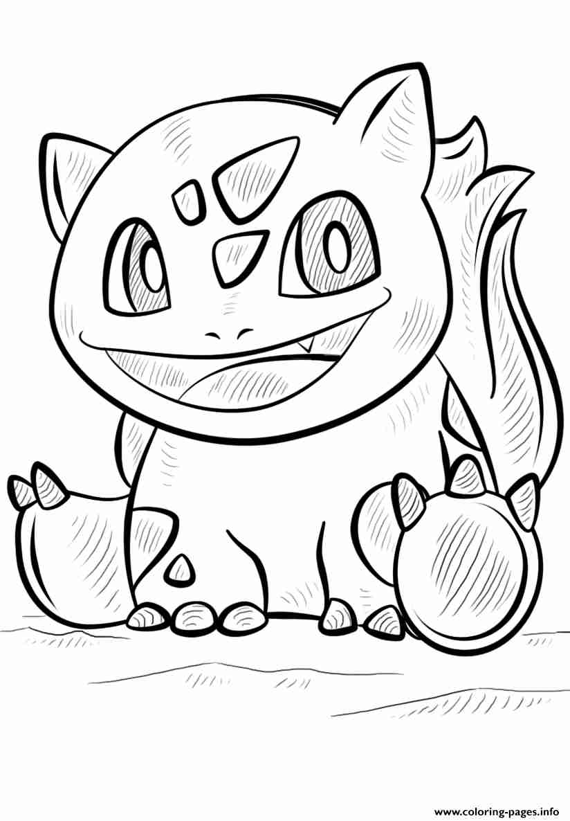 824x1186 Unsurpassed Pokemon Go Coloring Pages Bulbasau