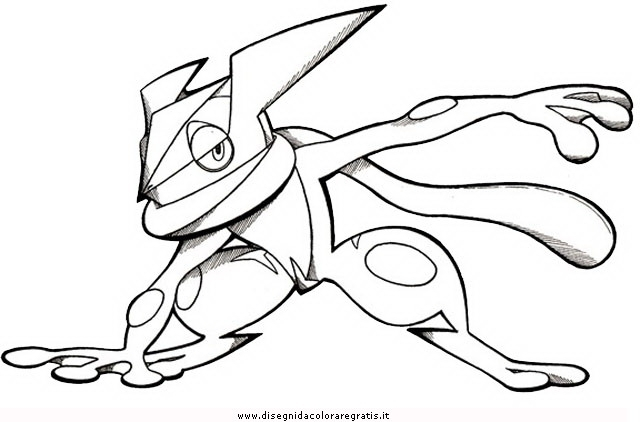 640x422 Coloring Pages Of Greninja Pokemon Coloring Pages Mega Greninja