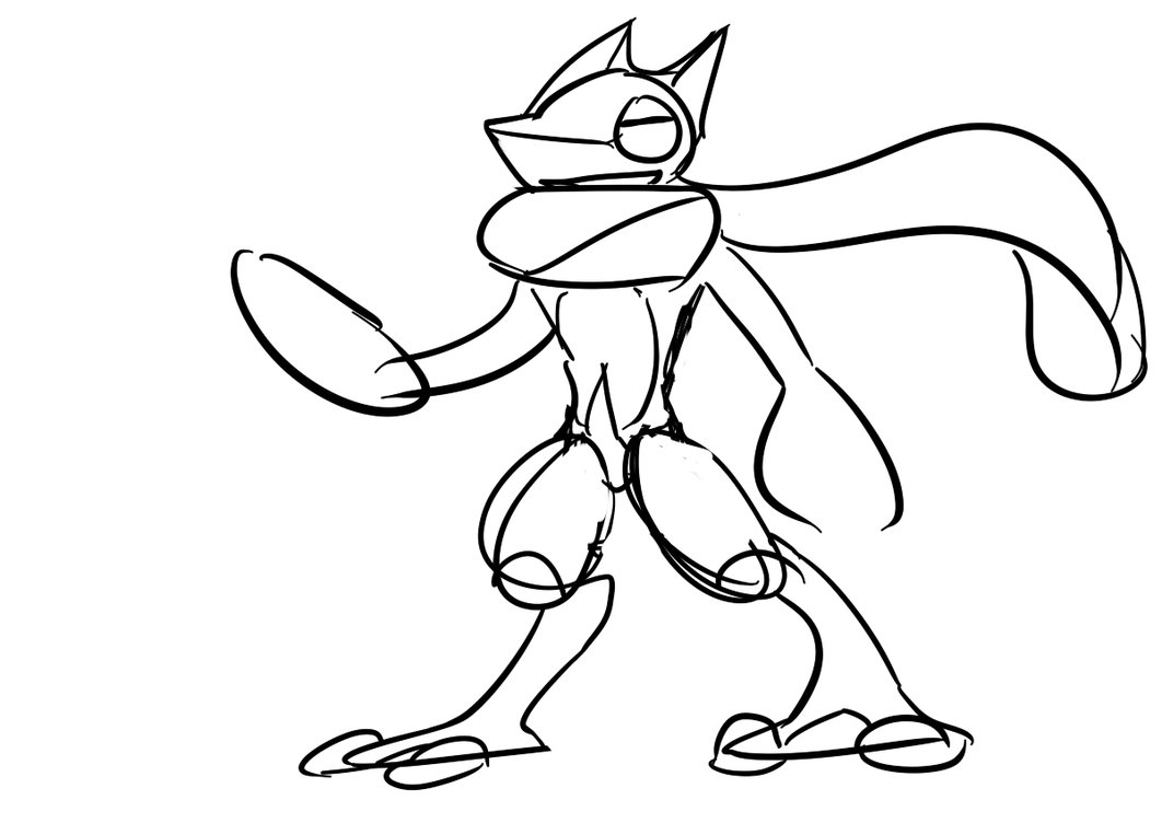 1062x752 Download Ash Greninja Coloring Pages Collections Free Coloring
