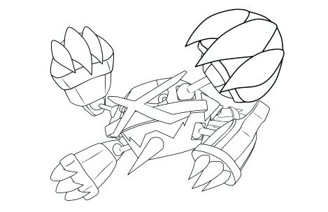 Pokemon Greninja Coloring Pages At Getdrawings Com Free For