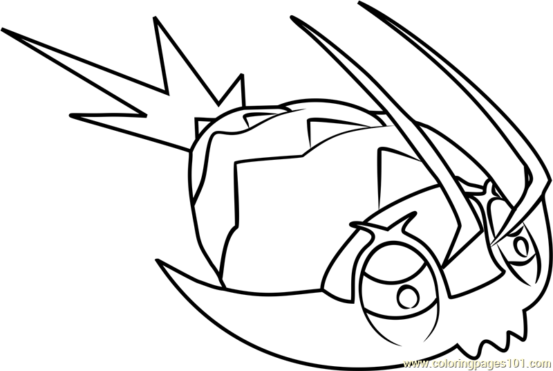 800x536 Wimpod Pokemon Sun And Moon Coloring Page