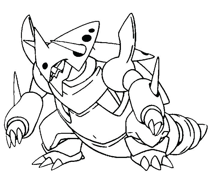 groudon coloring pages - photo#23