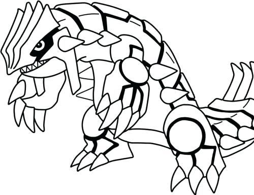 500x384 Groudon Coloring Pages Primal Coloring Page Primal Groudon