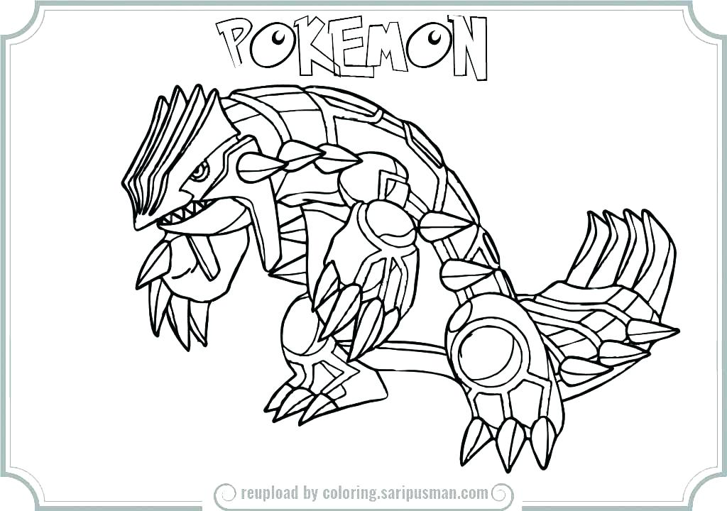 1024x720 Primal Groudon Coloring Pages Page Free Colouringcoloring Pages