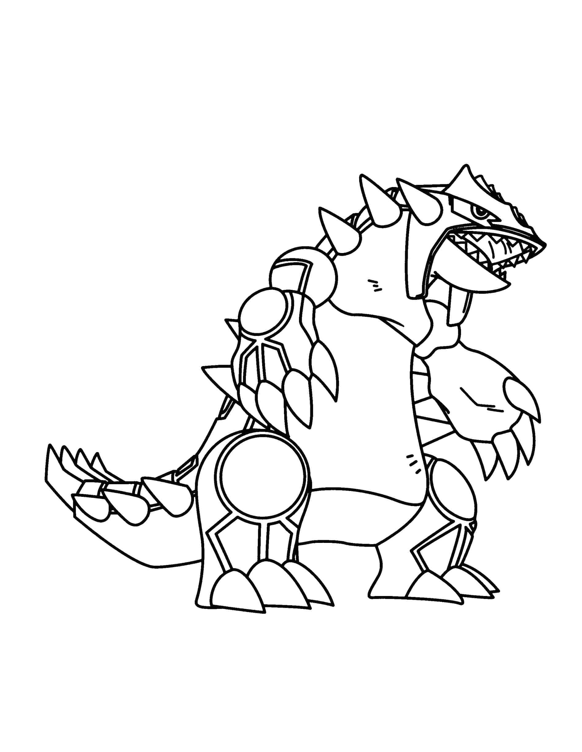 1896x2449 Fresh Coloring Pages Pokemon Groudon