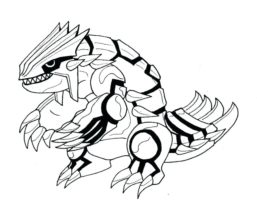 850x729 Groudon Coloring Pages Coloring Pages Coloring Pages Primal