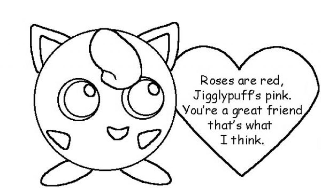 Pokemon Jigglypuff Coloring Pages