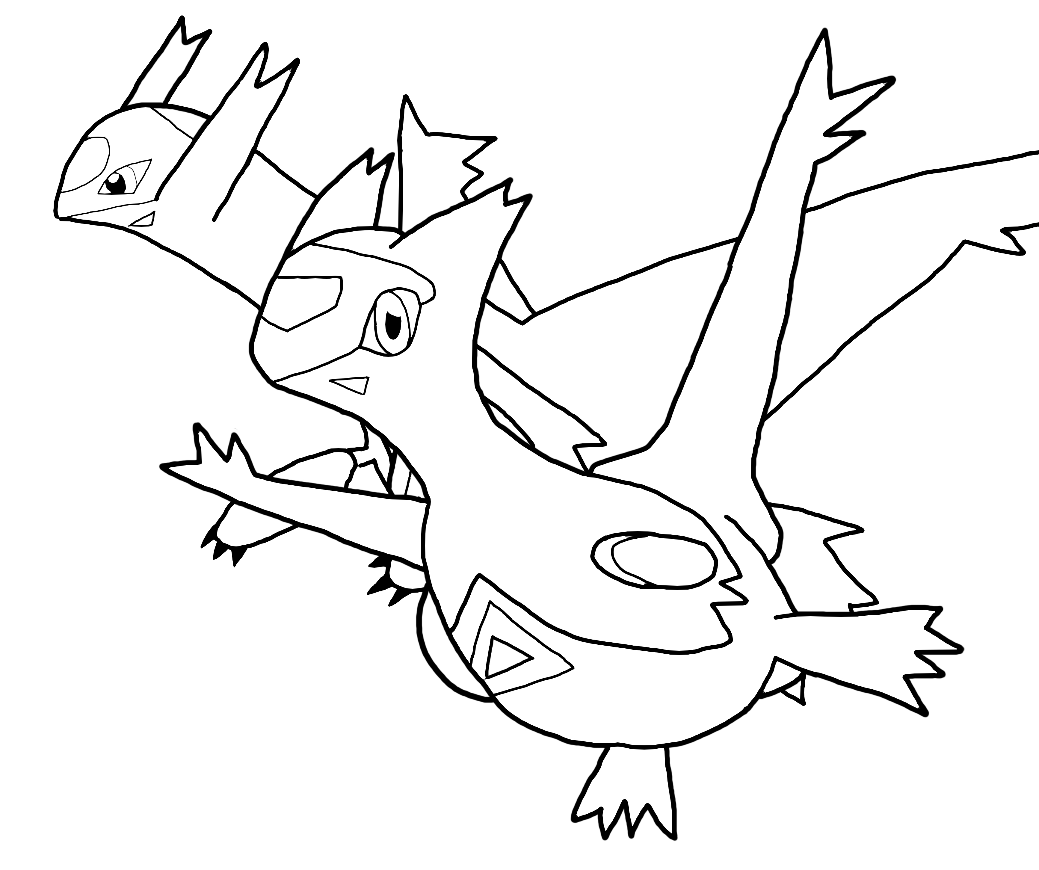 3468x2904 Latios And Latias Coloring Pages Gallery Coloring For Kids
