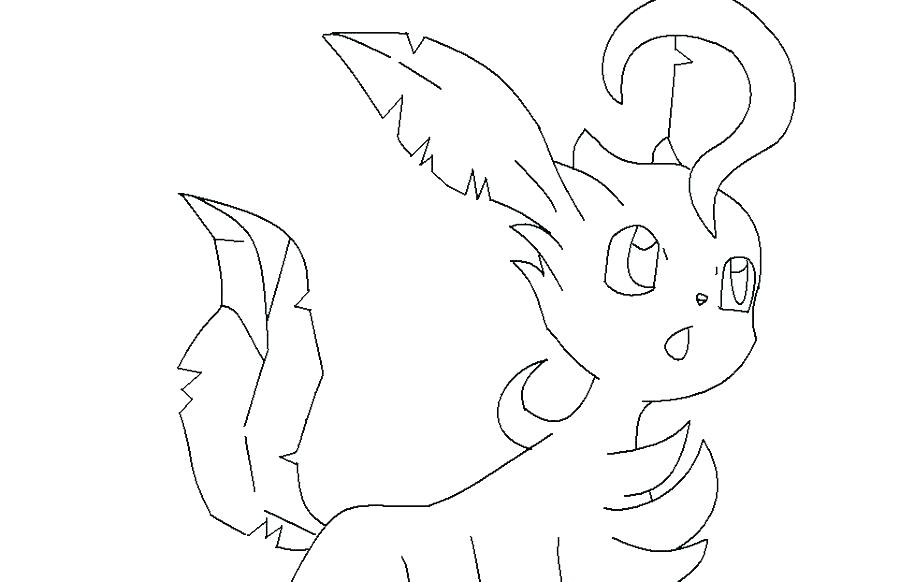 Pokemon Leafeon Coloring Pages at GetDrawings   Free download