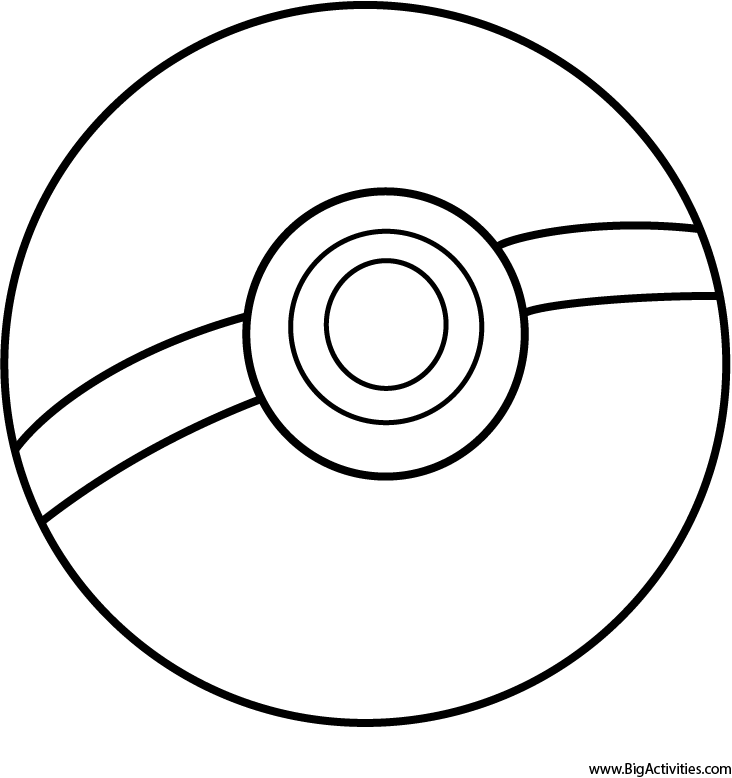 732x778 Pokeball Printable Coloring Pages