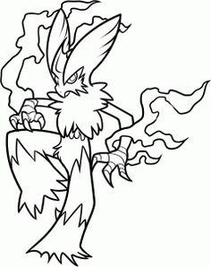 236x298 How To Draw Mega Lucario, Step