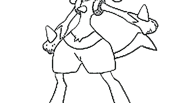 749x425 Pokemon Coloring Pages Lucario Coloring Page Mega Pokemon Coloring