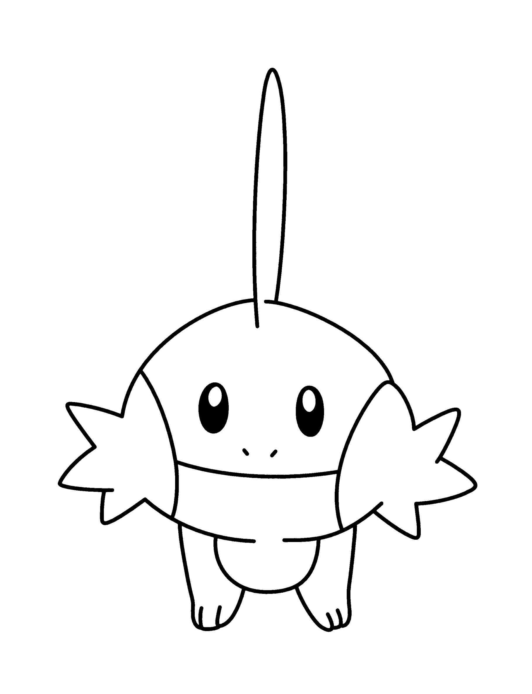 1817x2370 Mudkip Coloring Pages Web Coloring Pages