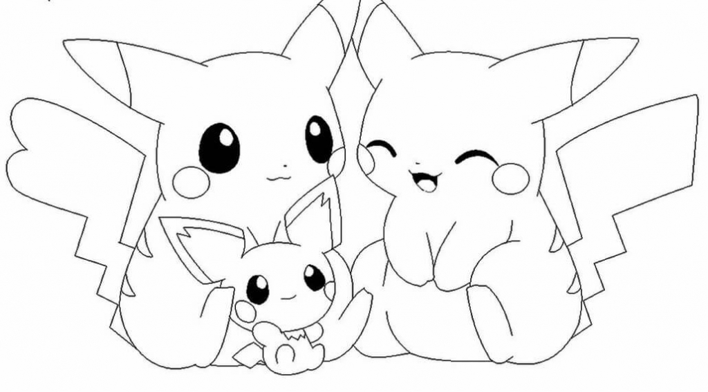 Pokemon Pictures Coloring Pages