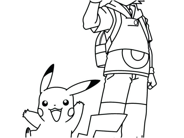640x480 Ash Pokemon Coloring Page Coloring Pages And Ash Google Search