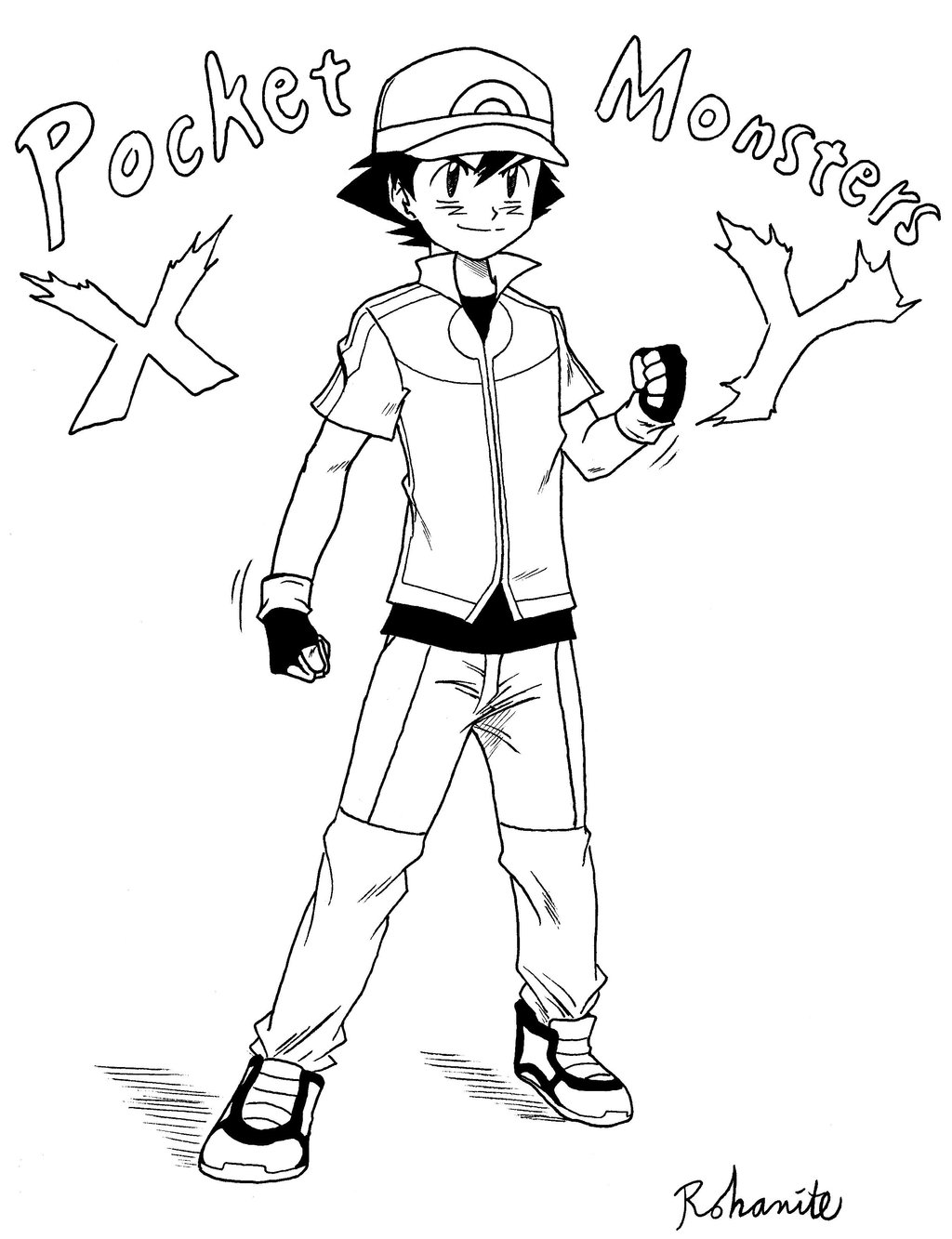 1024x1333 Famous Pokemon Ash Coloring Pages Photo