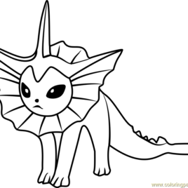 268x268 Pokemon Vaporeon Coloring Pages Az Coloring Pages Coloring Pages