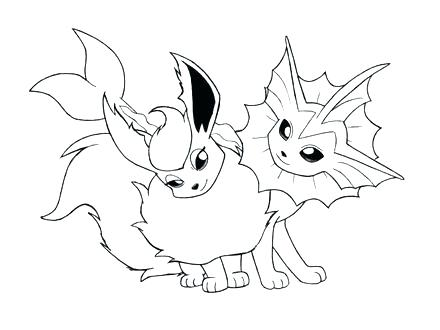440x330 Vaporeon Coloring Pages Stunning Coloring Pages Print New