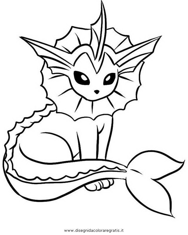 640x800 Vaporeon Coloring Pages Coloring Pages