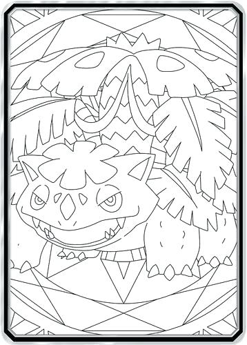 358x500 Venusaur Coloring Page Coloring Pages Photo Gallery Next Image