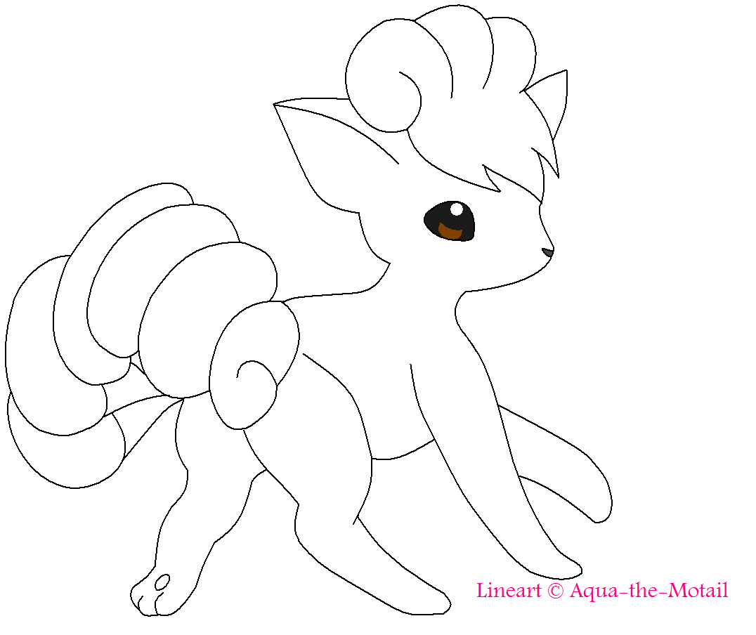 Pokemon Vulpix Coloring Pages At Getdrawings Free Download