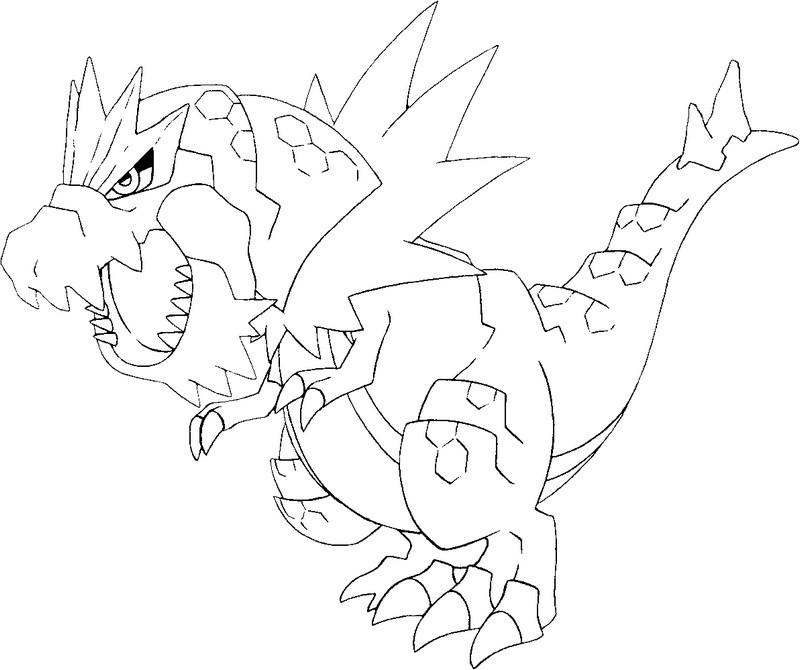800x670 Coloring Page Pokemon X Y