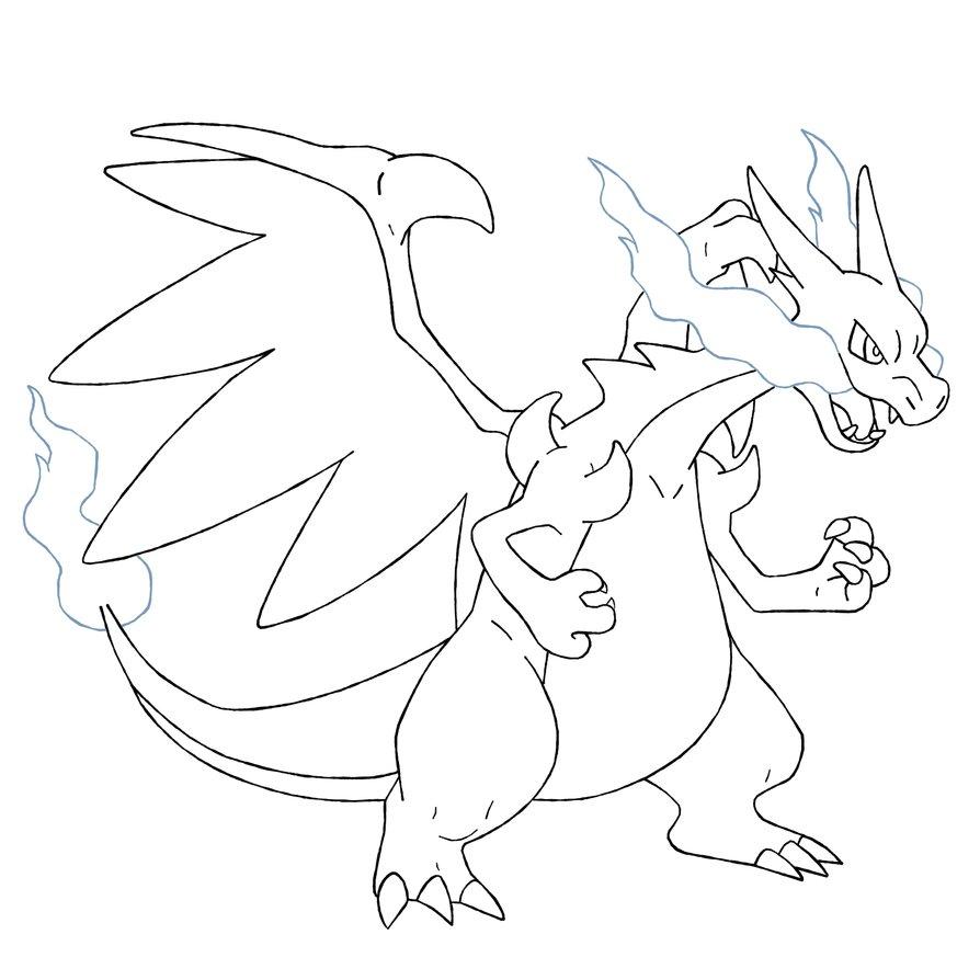Dibujos Para Pintar De Pokemon Xyz Dibujos Para Colorear Pokemon X Y