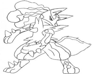 388x312 Mega Yveltal Pokemon Coloring Pages Evolution Page Evolved