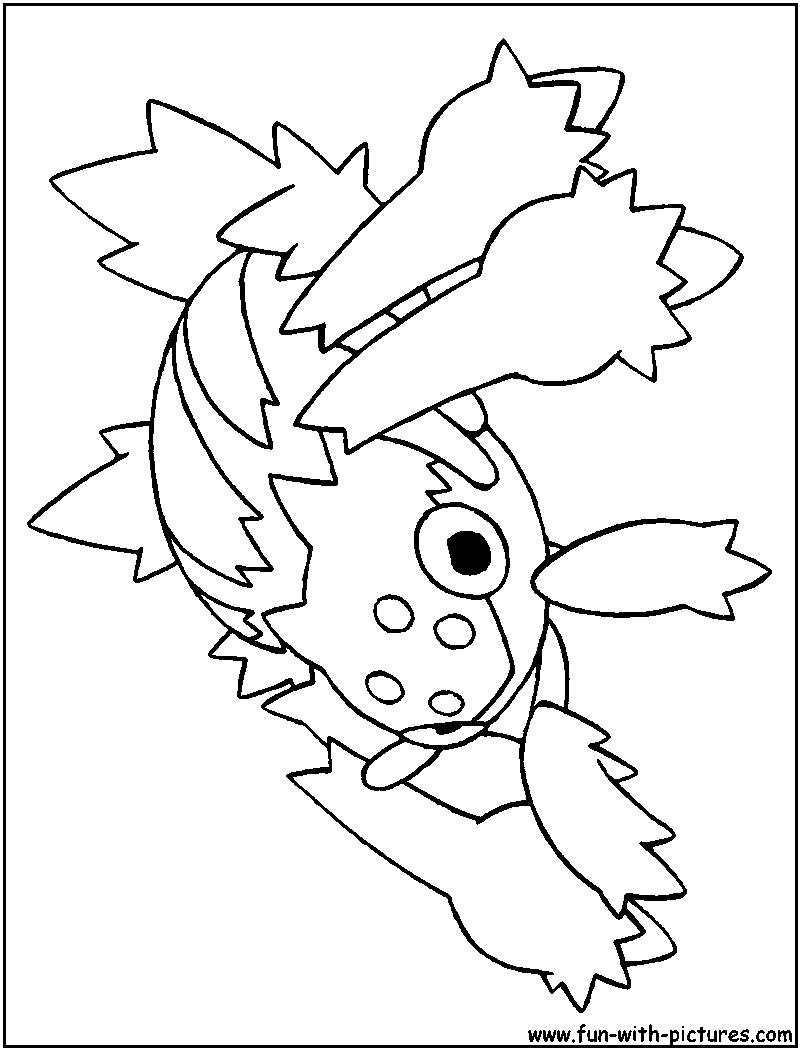 800x1050 Mega Pokemon Yveltal Coloring Page